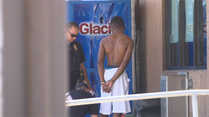 Police say several people have been detained at the scene for questioning about the shooting. (Source: 3TV/CBS 5)