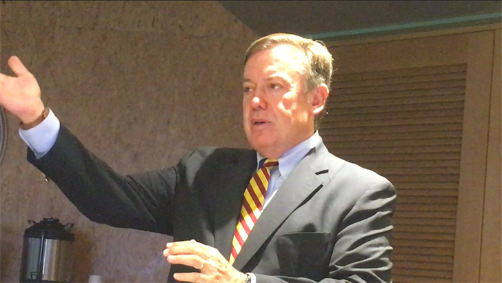 ASU President Michael Crow discusses the state of Sun Devils athletics