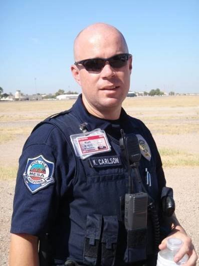 Police Ofc. Kurt Allen Carlson. (Source: Mesa Police Department)