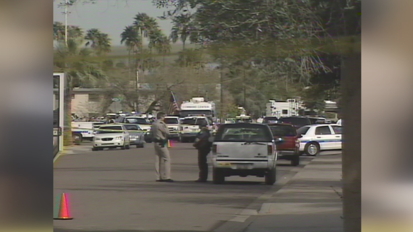 Logan was opening the package in his office when the pipe bomb inside exploded in 2004. (Source: 3TV/CBS 5)