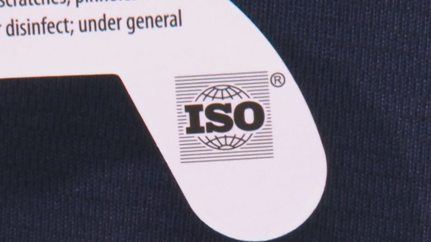 You have to make sure there's an ISO certification printed on the inside of the solar glasses which basically means they're approved and safe to view the eclipse. (Source: 3TV/CBS 5)