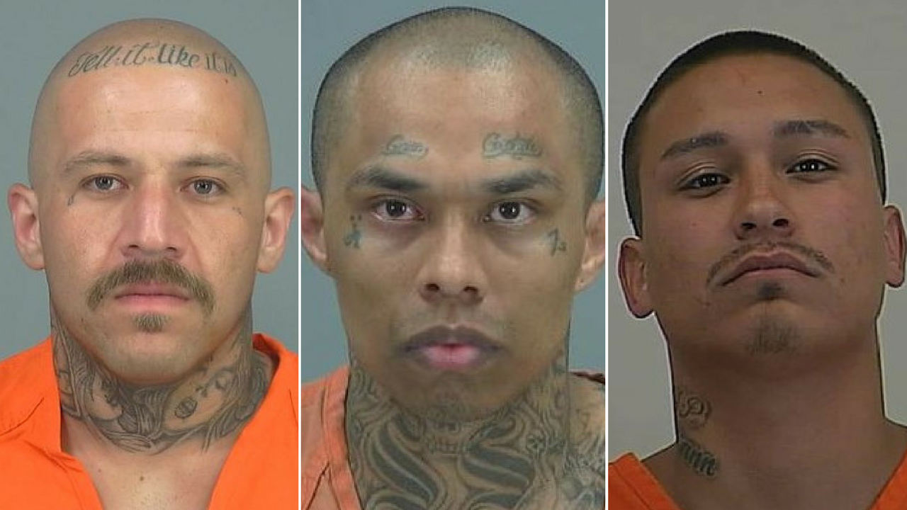 Robert Villalobos, Santiago Sanchez and Mauricio Moraga, 26, were found guilty Tuesday of conspiracy to commit first-degree murder. (Source: Pinal County Sheriff's Office)