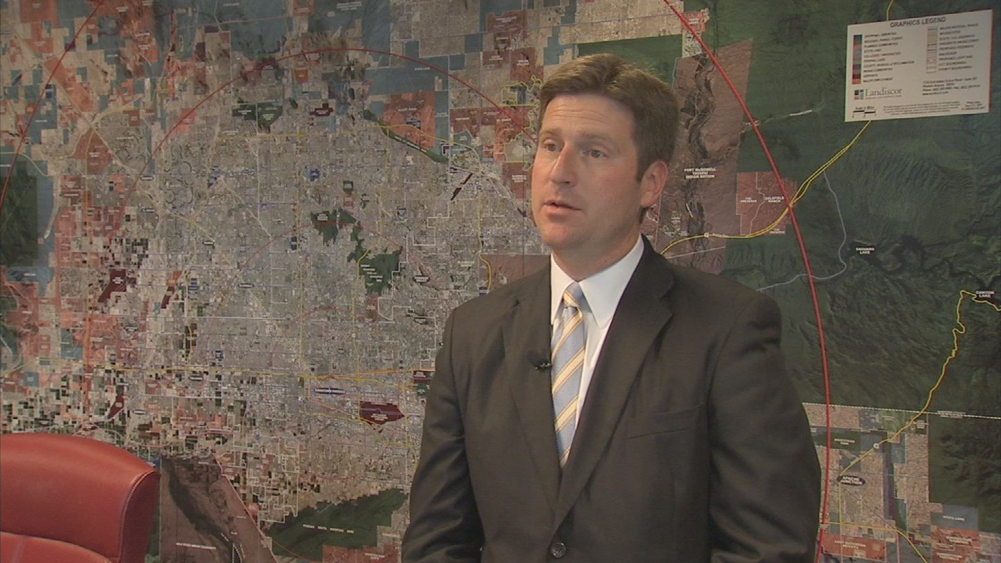 File picture of Phoenix Mayor Greg Stanton. (Source: 3TV/CBS 5)