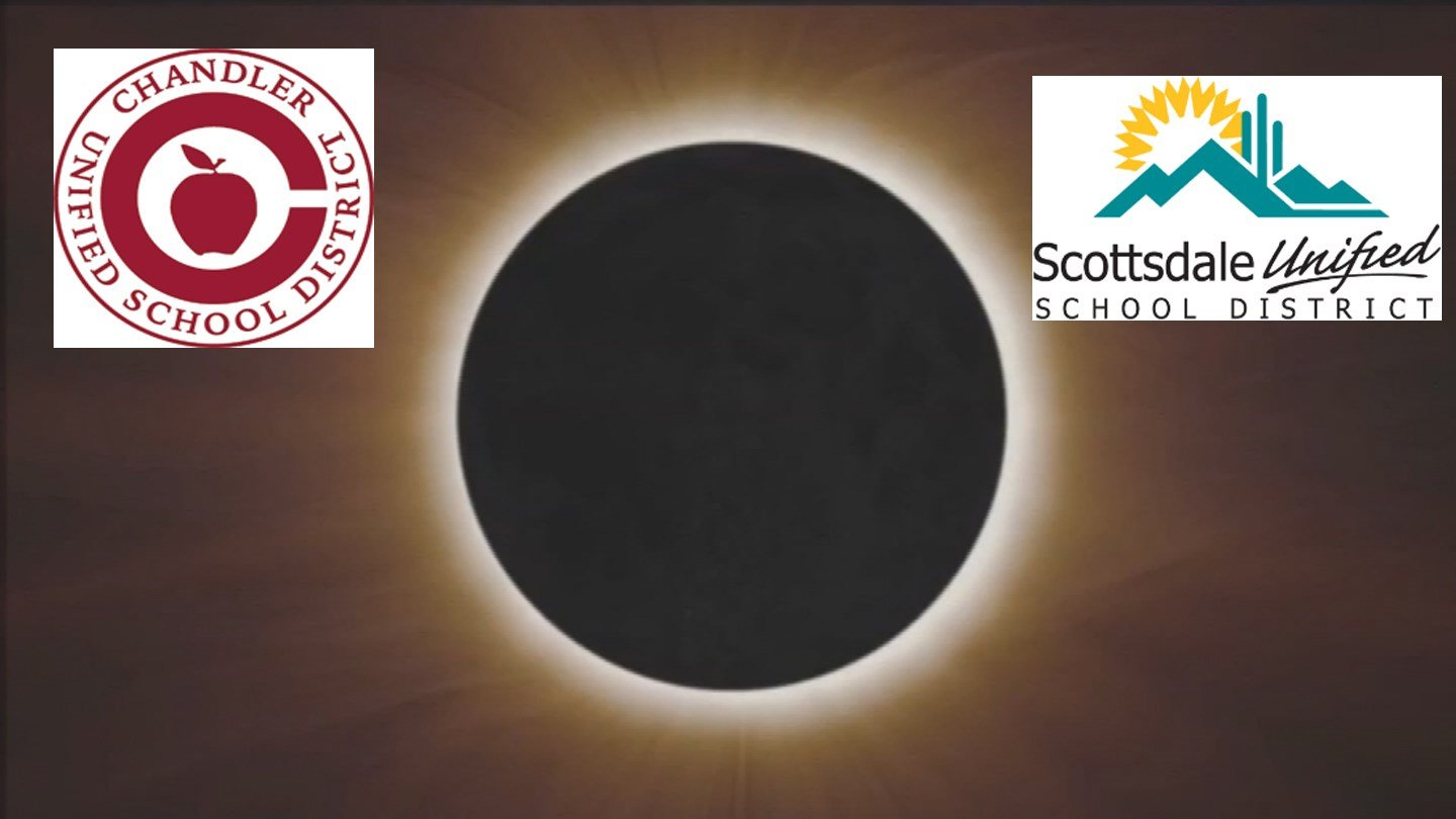 At least two school districts in the Valley won't allow students to view the eclipse. (Source: 3TV/CBS 5)