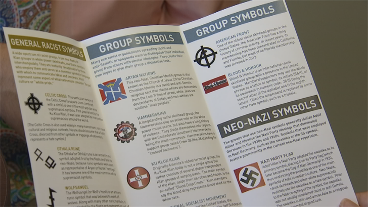 Some of the groups ADL has identified as white supremacist organizations are blatant about their ideology and express it through their publicity materials and websites. (Source: 3TV/CBS 5)