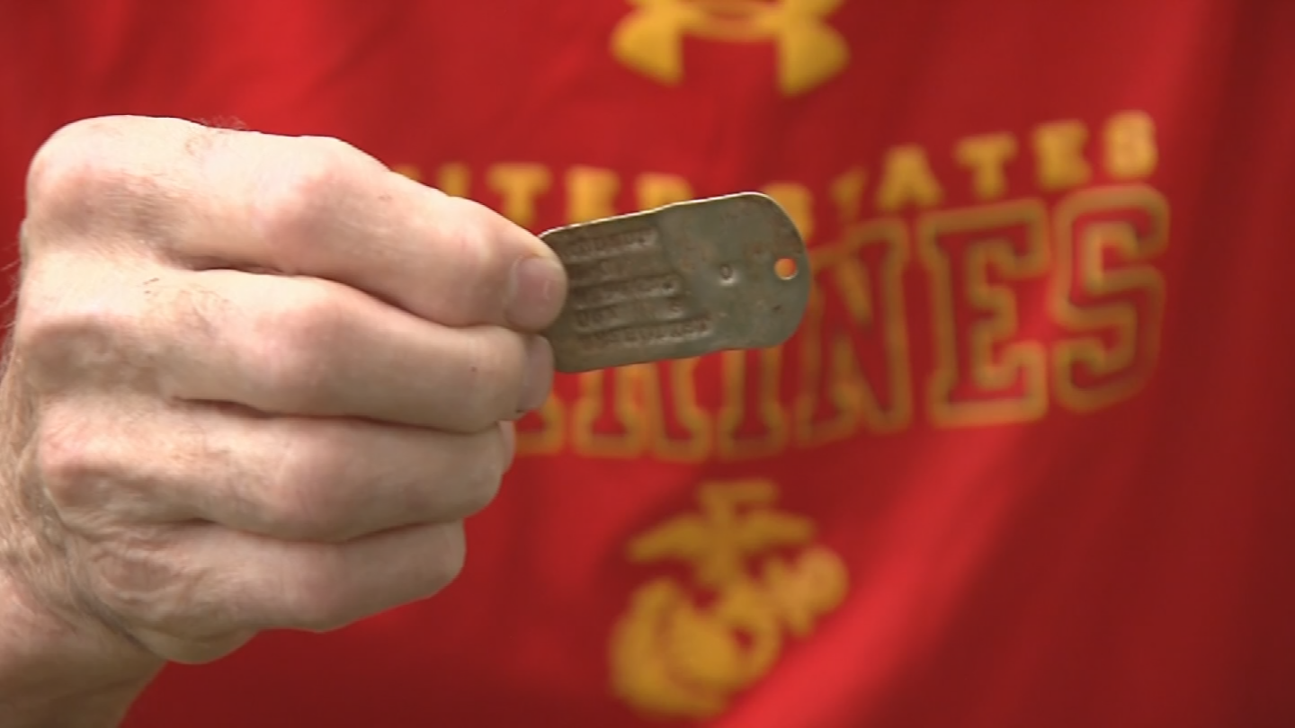 When Vietnam veteran Bob Allsup received a letter claiming to have found his nearly 50-year-old dog tag in Vietnam, at first, he didn't believe it. (Source: 3TV/CBS 5)