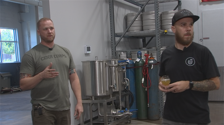The tap house is called Cider Corps and run by two brothers, Jason and Josh Duren.  (Source: 3TV/CBS 5)