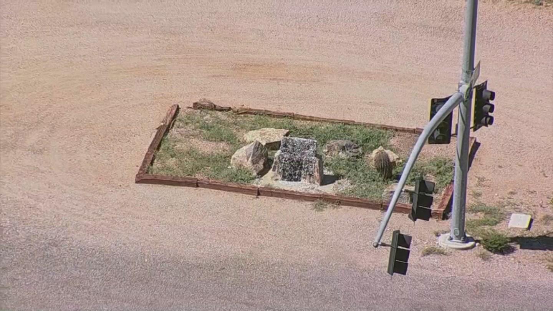 AZ Confederate memorials vandalized (Source: 3TV/CBS 5)