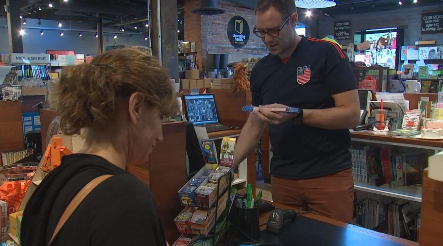 Brick-and-mortar businesses want a level playing field when competing against online businesses. (Source: CBS 5)