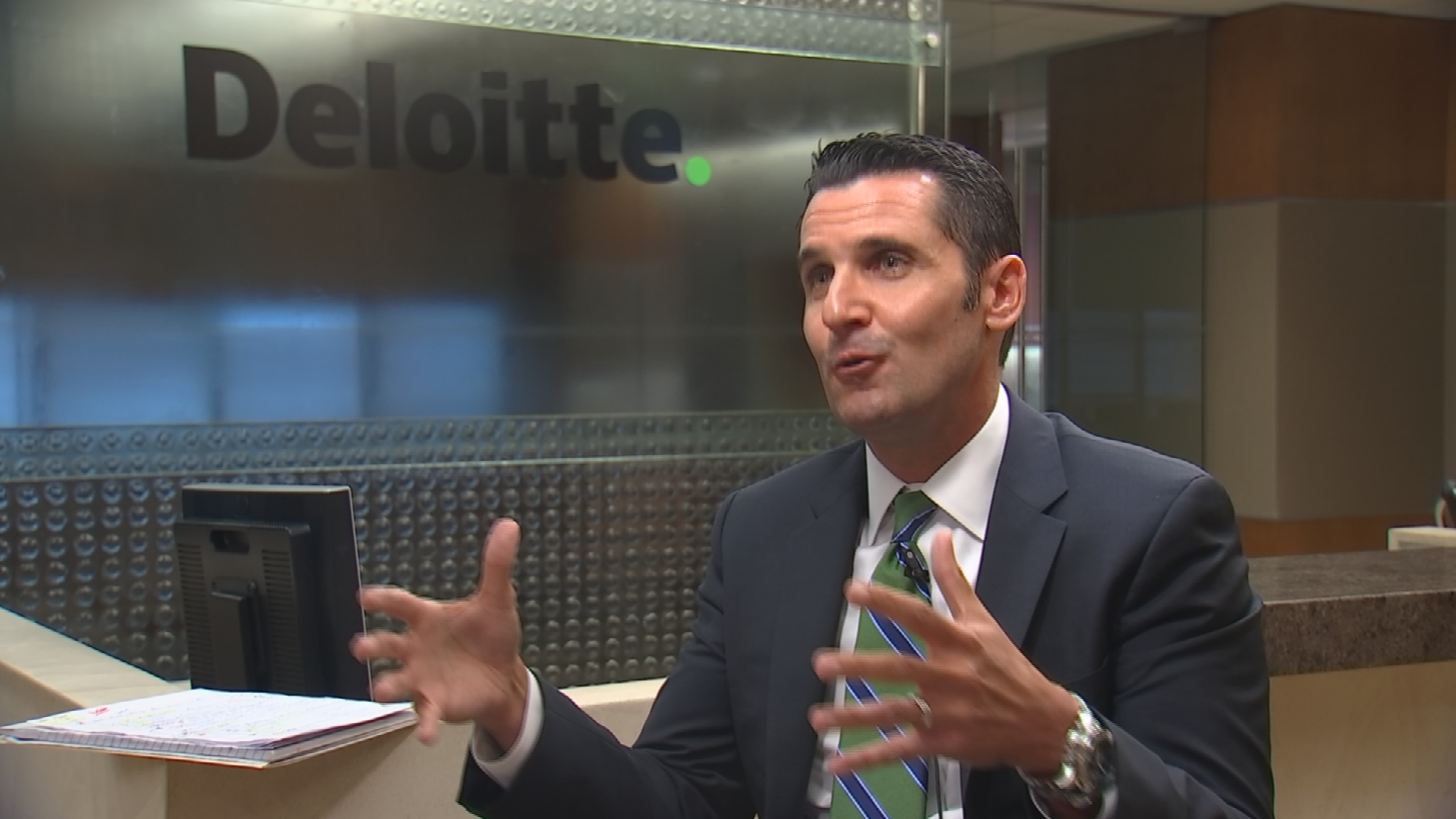 To attract more career jobs, Jonas McCormick, managing partner of Arizona's Deloitte office, argues that the state needs to convince more big businesses to move their headquarters to Arizona. (Source: CBS 5)