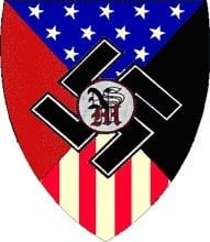 The logo for the National Socialist Movement, also called the NSM (Source: Anti-Defamation League)