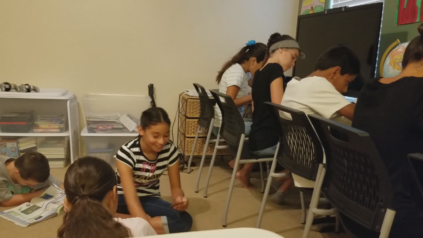 A couple years ago,the Valleymom and her husband adopted eight children, and haven't looked back. (Source: CBS 5)