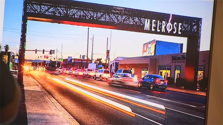 The Melrose District has several vintage and retro buildings. (Source: 3TV/CBS 5)