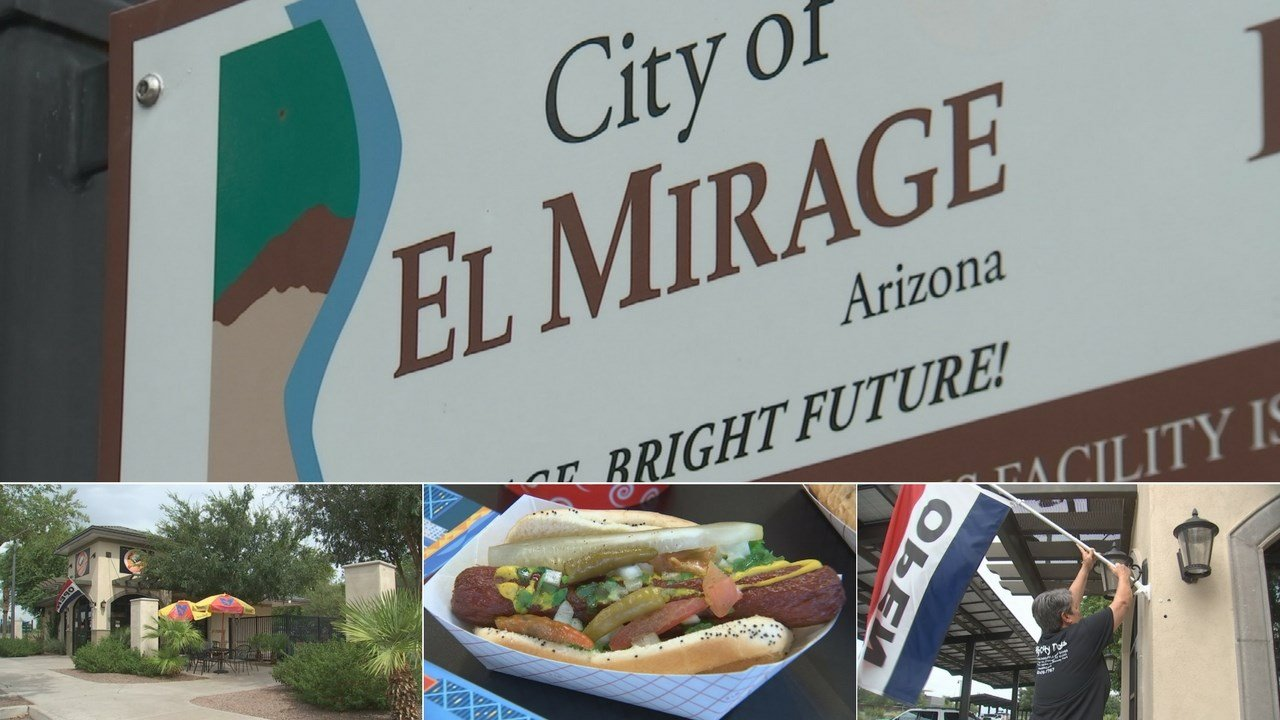 Windy City Dogs in El Mirage, a Chicago-style hot dog eatery, has become a hit and fast! (Source: 3TV/CBS 5)