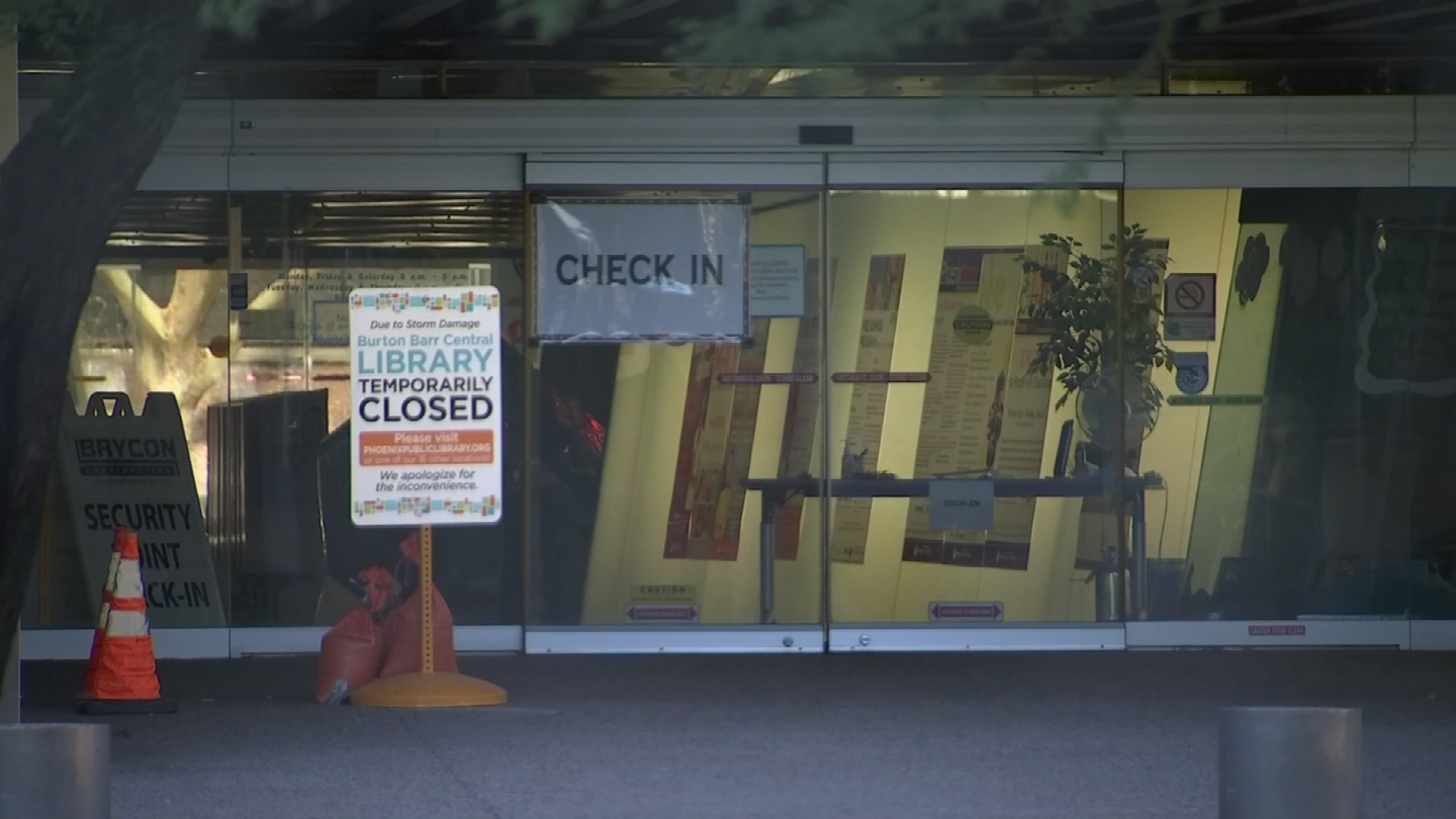 It's not just book lovers displaced by the library's closing. Many of the city's homeless used the building to cool off and access resources during the daytime. Now they're looking for somewhere else to go. (Source: 3TV/CBS 5)