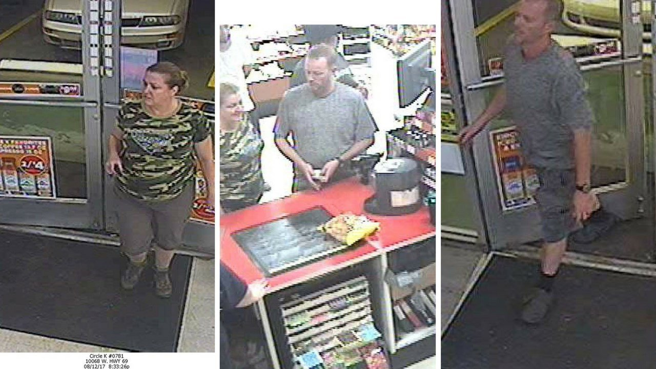 Two people suspected of passing fake $100 bill in Mayer. (Source: Yavapai County Sheriff)