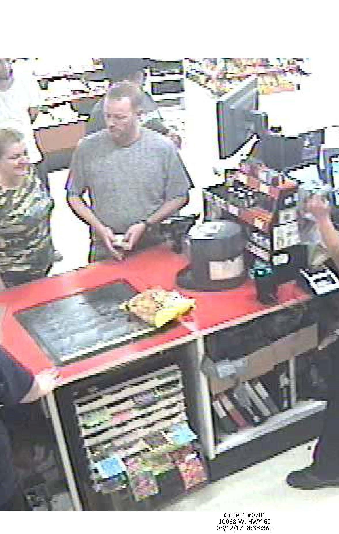 Pair believed to be passing fake $100 bill. (Source: Yavapai County Sheriff)