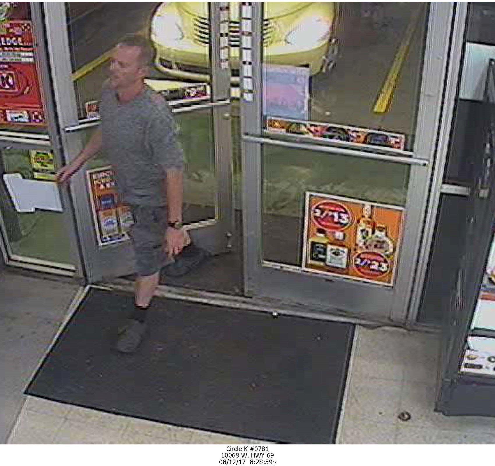 Man suspected of passing fake $100 bill. (Source: Yavapai County Sheriff)