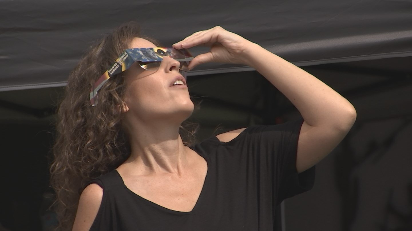 The solar eclipse was viewed by many around the Valley. (Source: 3TV/CBS 5 News)