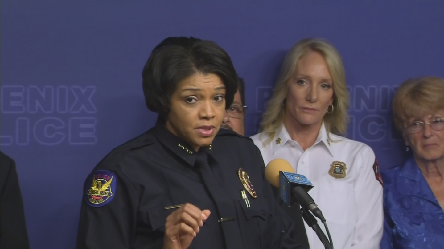 The security team is headed up by Phoenix Police Chief Jeri Williams. (Source: 3TV/CBS 5)