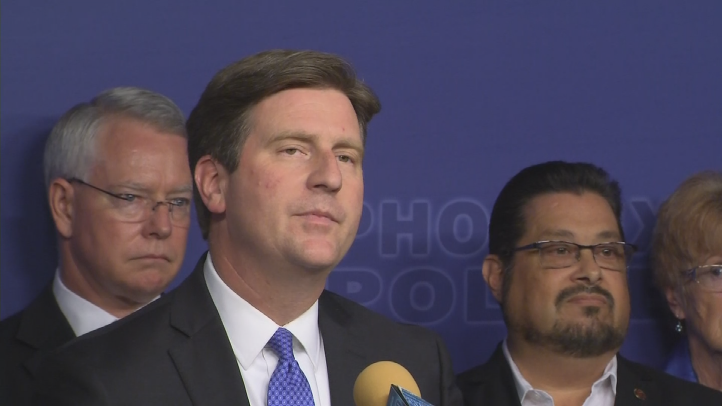 Phoenix Mayor Greg Stanton said he stood by his earlier comments that he thinks it's too soon to have a political rally after the protests in Charlottesville. (Source: 3TV/CBS 5)
