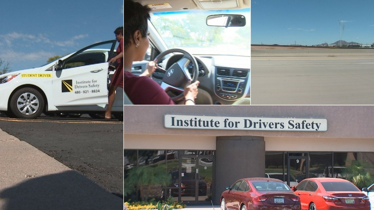 Tempe is home to a unique driving school that says it offers a lot more than regular driving lessons and tests. (Source: 3TV/CBS 5)