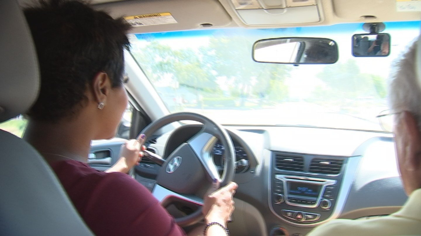 The teachers are more than just experienced drivers, they have all had careers in law enforcement. (Source: 3TV/CBS 5)