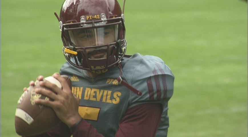 ASU junior Manny Wilkins heads into the season at the Sun Devils starter. (Source: 3TV/CBS 5)