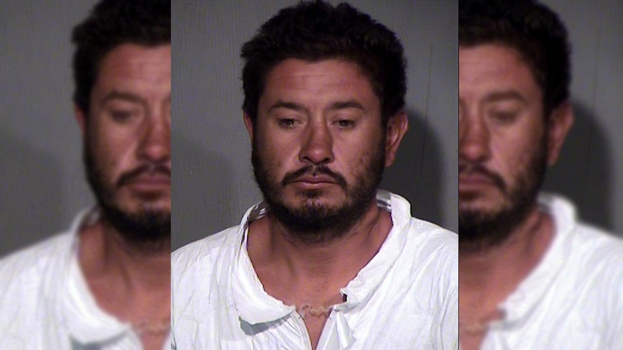 Police have a man in custody after he fatally stabbed another man at a Phoenix bus stop last Sunday. (Source: MCSO)