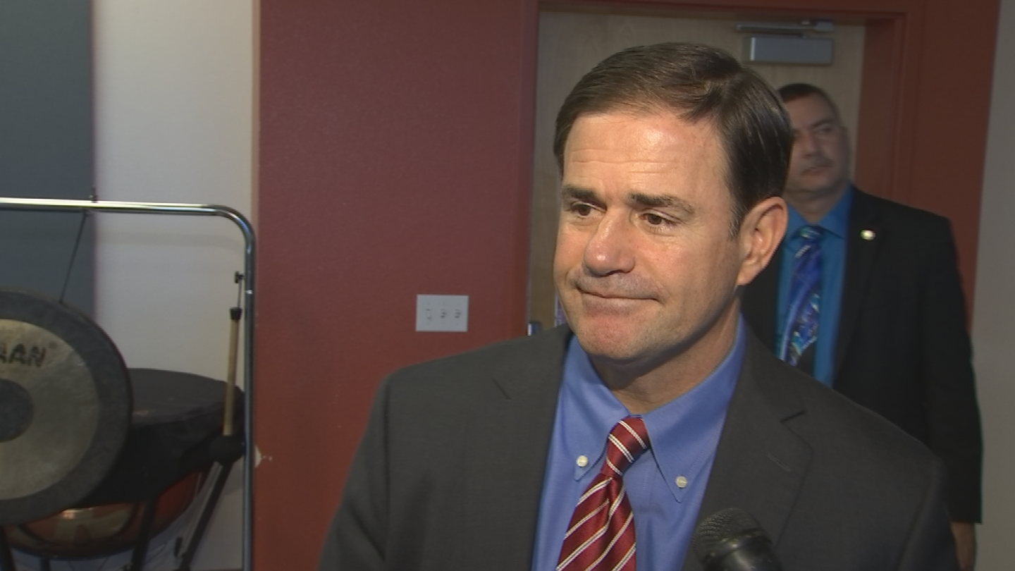 Gov. Ducey says the state has embraced school choice and that he wants students and parents to have more options regarding education. (Source: 3TV/CBS 5)