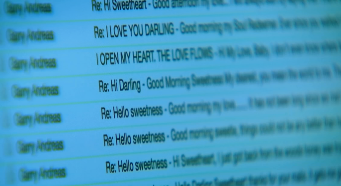 In a previous 3 On Your Side report, we introduced you to a valley woman who was duped out of $37,000 in the romance scam. (Source: 3TV/CBS 5)