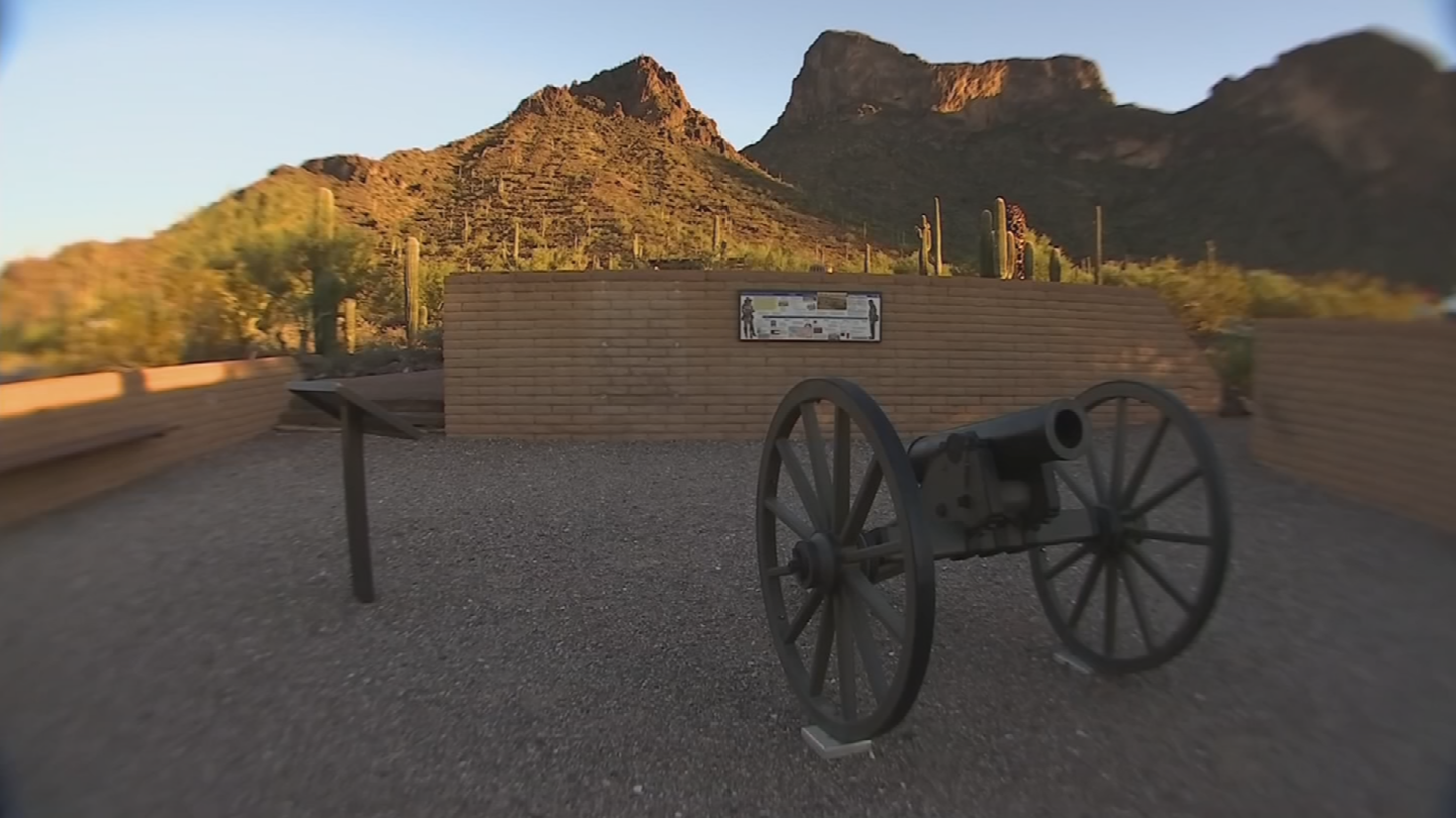 Civil rights leaders in Arizona have tried for two years to persuade state leaders to move the monument off state grounds. (Source: 3TV/CBS 5)