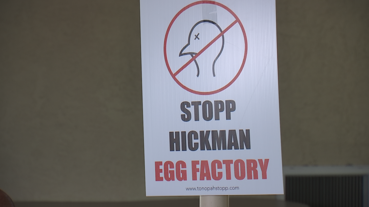 A lawsuit filed Thursday in Maricopa County Superior Court spells out the accusations against the Valley-based egg producer. (Source: 3TV/CBS 5)