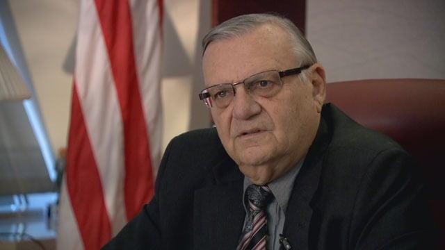 Former Maricopa County Sheriff Joe Arpaio. (Source: 3TV/CBS 5 News)