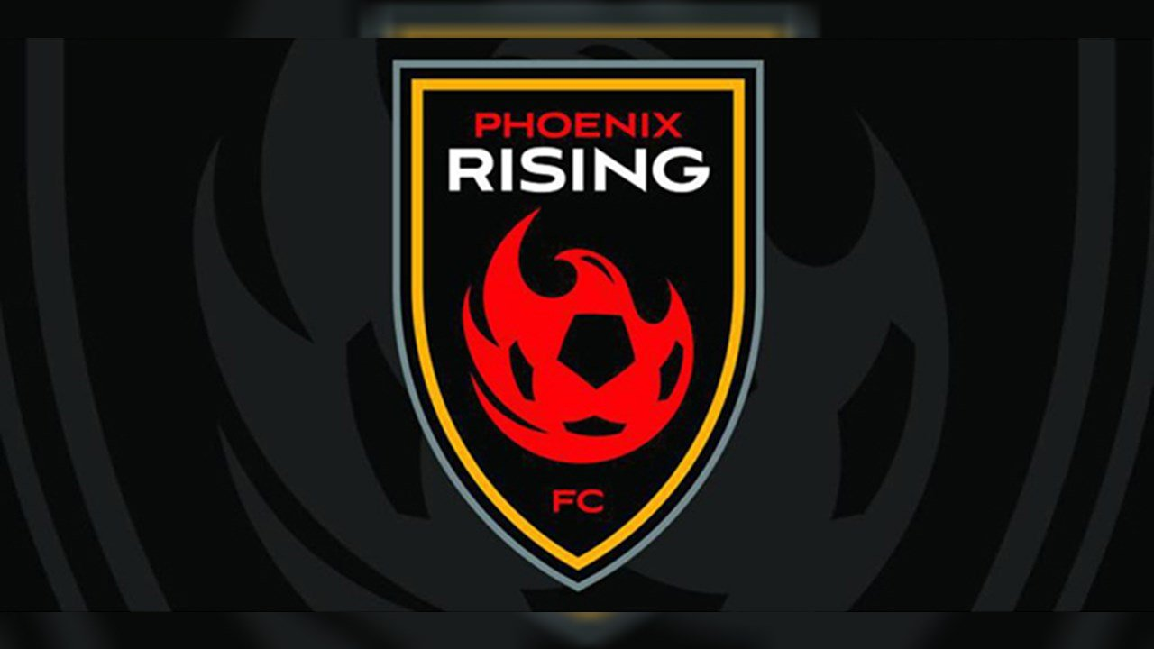 Phoenix Rising FC logo. (Source: phxrisingfc.com)