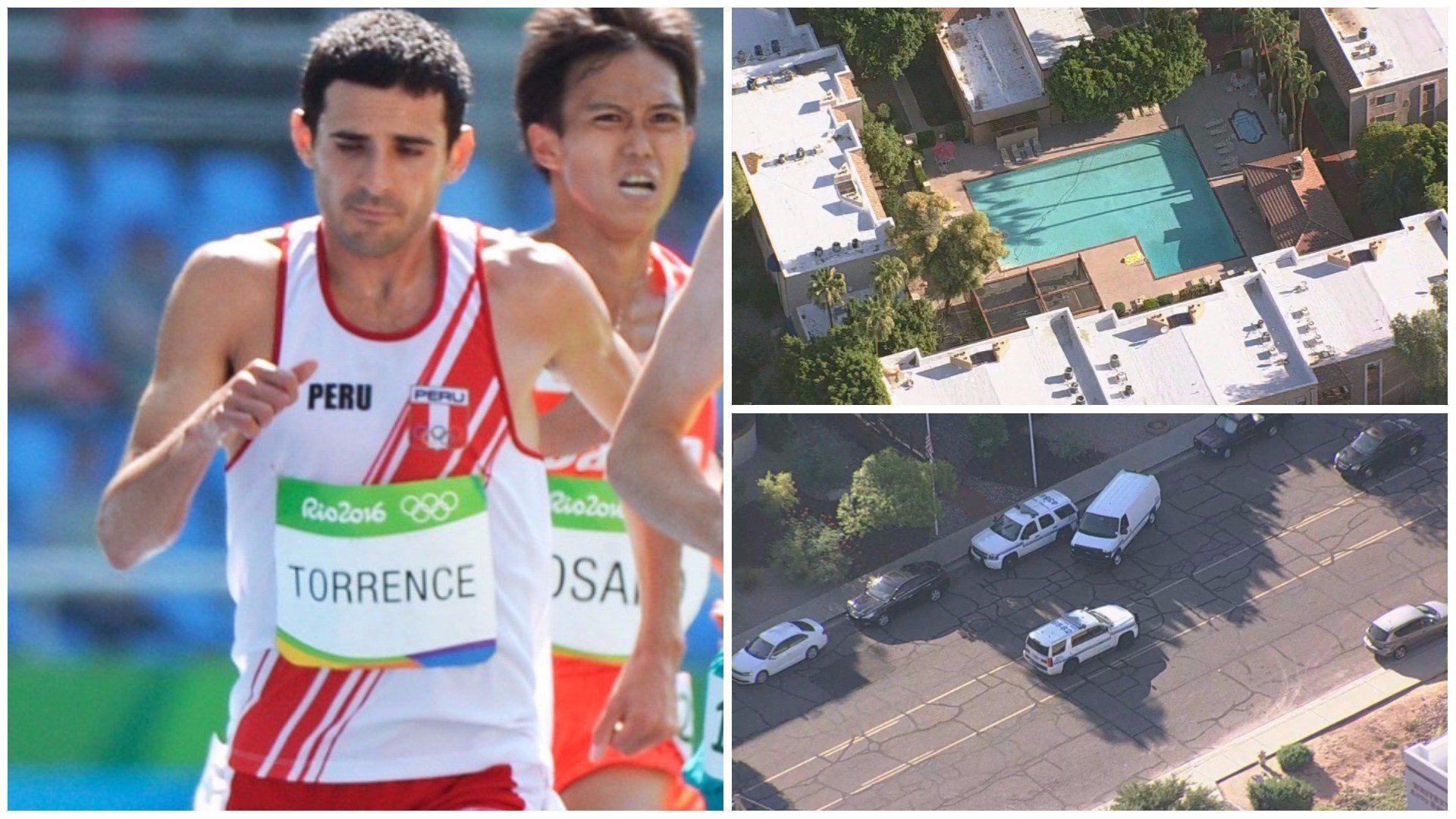 Olympic runner David Torrence found dead in Scottsdale pool