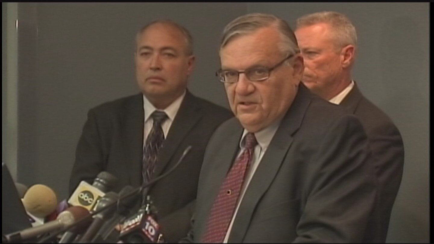 Former Maricopa County Sheriff Joe Arpaio. (Source: AP)