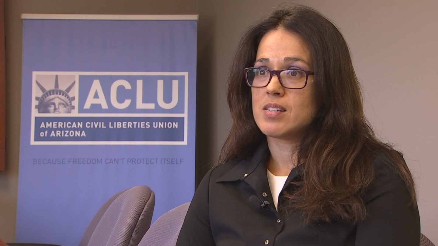 """We do have concerns. This needs to be independent. Otherwise, it's not going to be productive. In fact, it's going to be counter-productive,"" said ACLU Executive Director Alessandra Soler. (Source: 3TV/CBS 5)"
