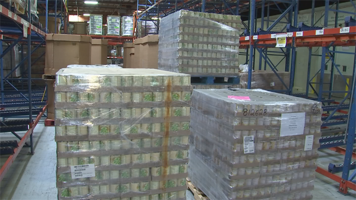 Food and personal care products are heading to Texas from Arizona thanks to St. Mary's Food Bank. (Source: 3TV/CBS 5)
