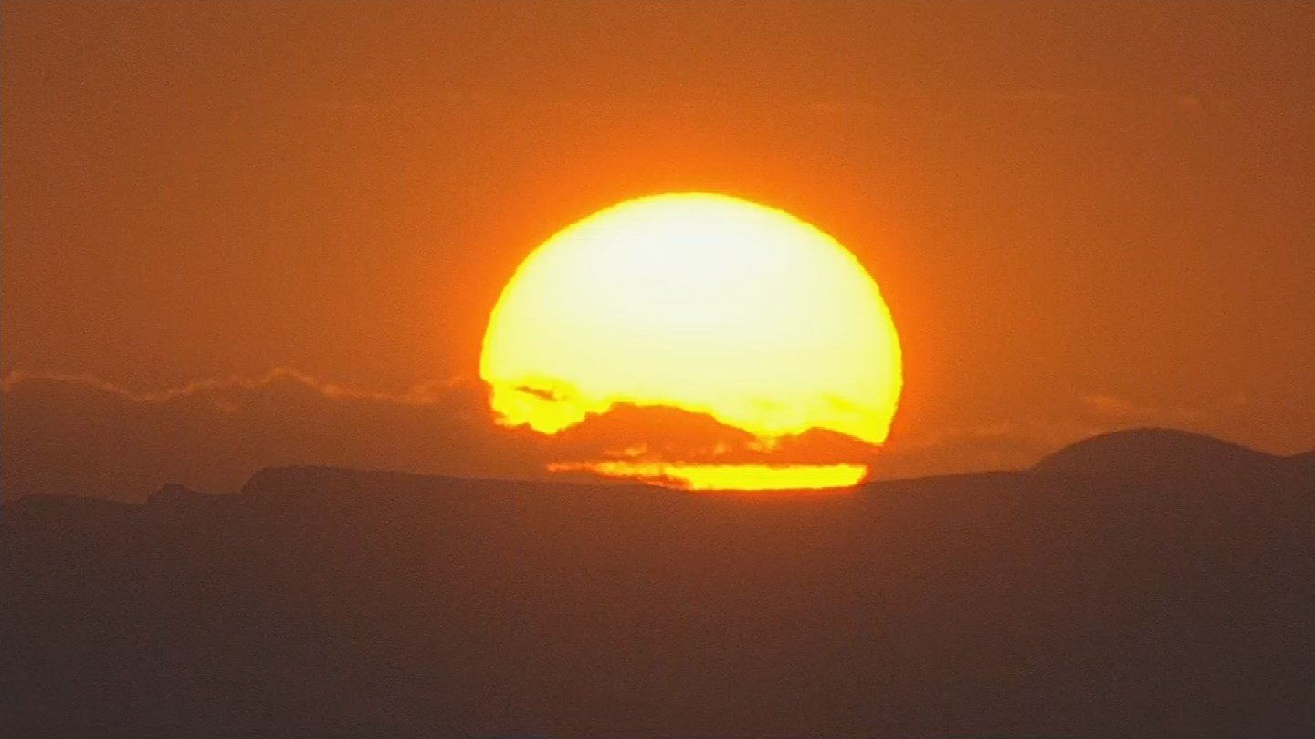 The National Weather Service has issued an excessive heat warning after temperatures hit 110 degrees in Phoenix on Monday. (Source: 3TV/CBS 5)