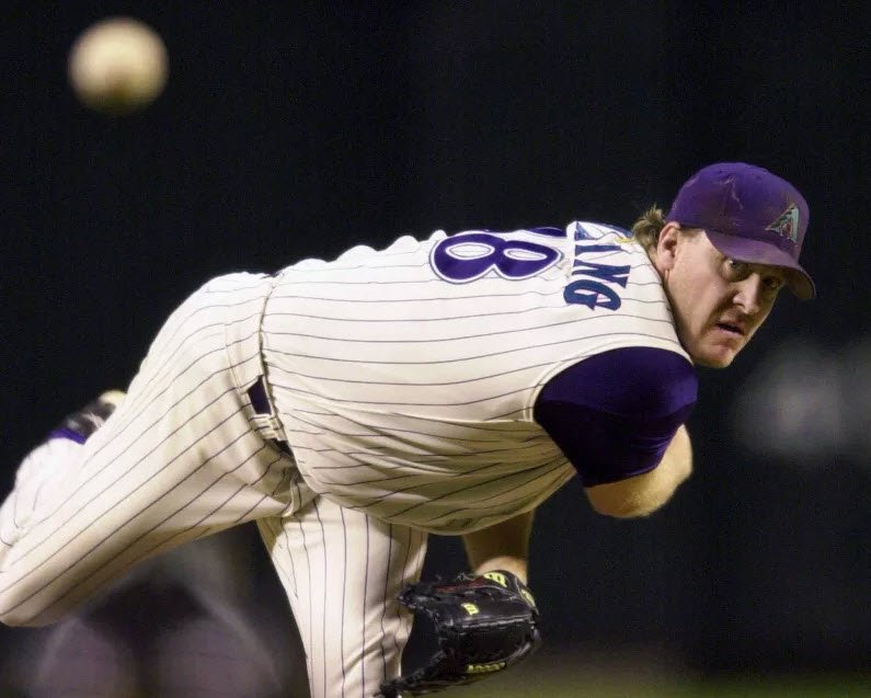 Curt Schilling asked for the roof to be closed when he pitched for the Diamondbacks. (Source: The Associated Press)