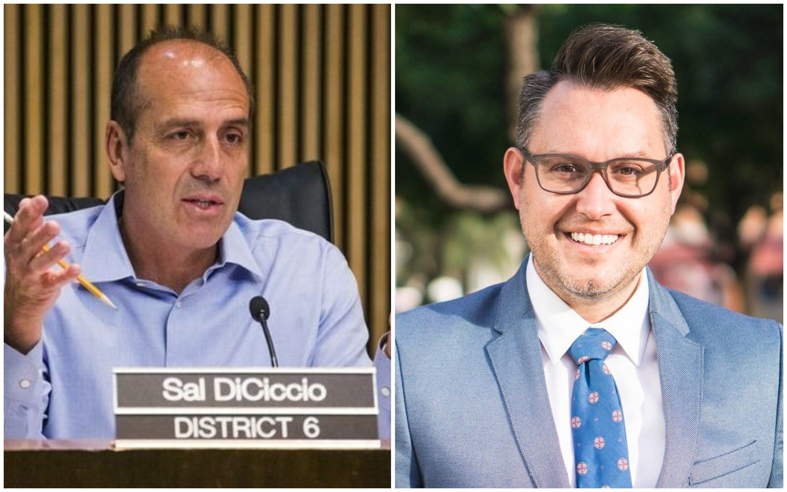 Incumbent Sal DiCiccio and challenger Kevin Patterson are vying to represent District 6 on the Phoenix City Council. (Source: Sal DiCiccio and Kevin Patterson)