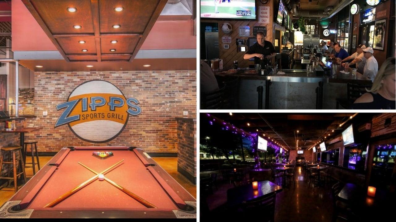 (Courtesy: Zipps Sports Grill, Arcadia Tavern, Majerle's Sports Grill)