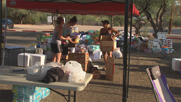 Donations are coming in from Cave Creek too. (Source: 3TV/CBS 5)