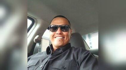 Matthew Covarrubio, a 34-year-old driving his friend home from work, was involved in a fiery crash. (Source: 3TV/CBS 5)