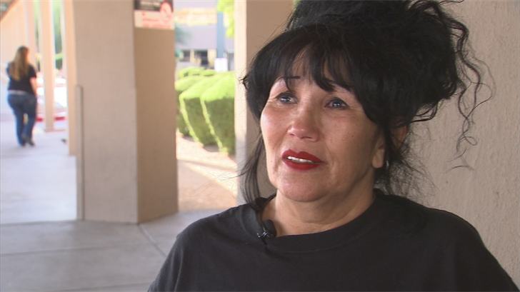"""""""If it wasn't for them, my son wouldn't be here. They're angelswho were there at the right time,"""" Matthew's motherBarbara Covarrubio said. (Source: 3TV/CBS 5)"""