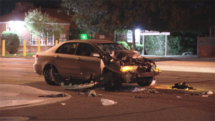 Two people are left in serious condition after being hit by a car while pushing a disabled vehicle. (Source: 3TV/CBS 5)
