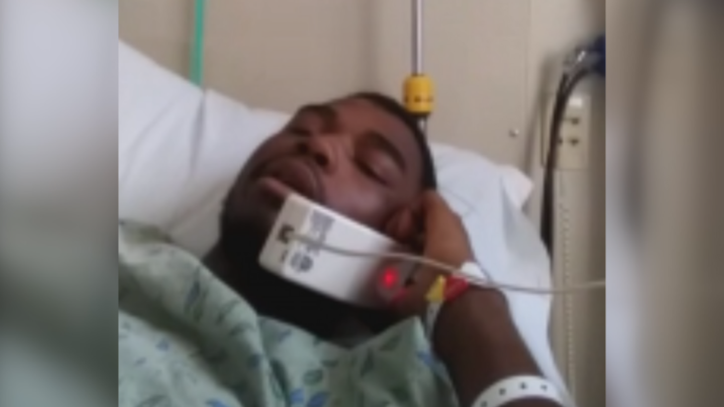Jayvione Walls required surgeries for his injuries after the crash. (Source: 3TV/CBS 5)