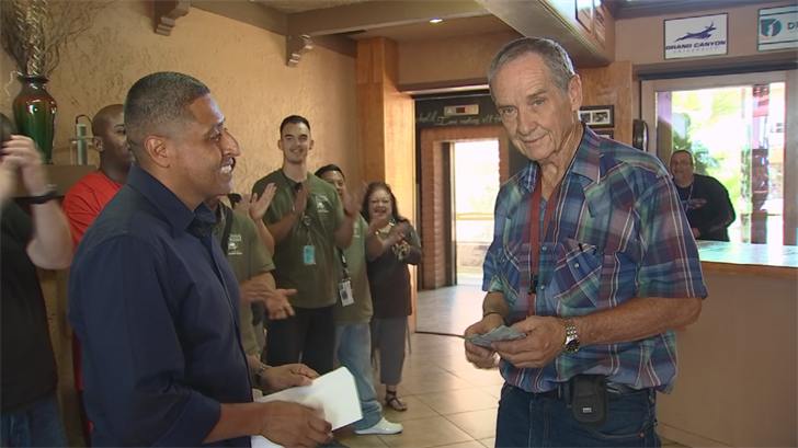 Paul Vargas' life was out of control, but then he met Church on the Street pastor Walt Rattray, who brought Vargas to the Phoenix Dream Center. (Source: 3TV/CBS)