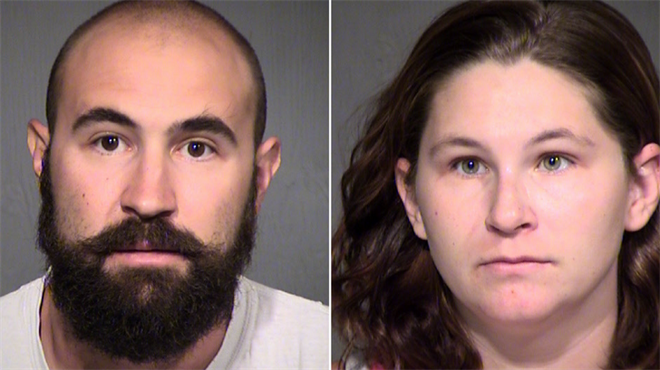 Jefferey James Swartz and Samantha Ohlman. (Source: Maricopa County Sheriff's Office)